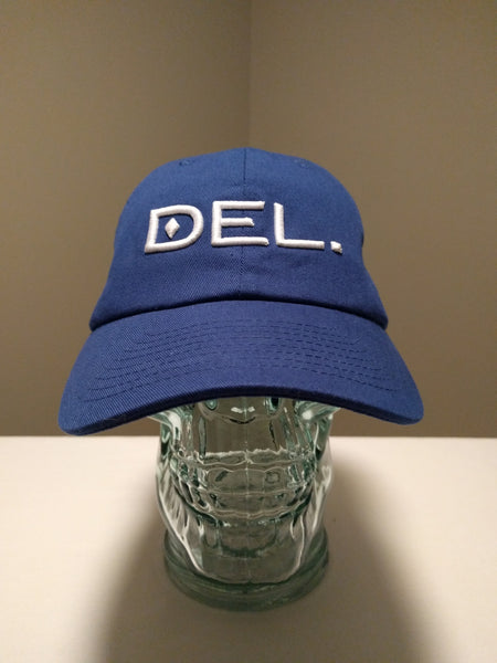 DEL.™ Low Profile Hat (Royal)