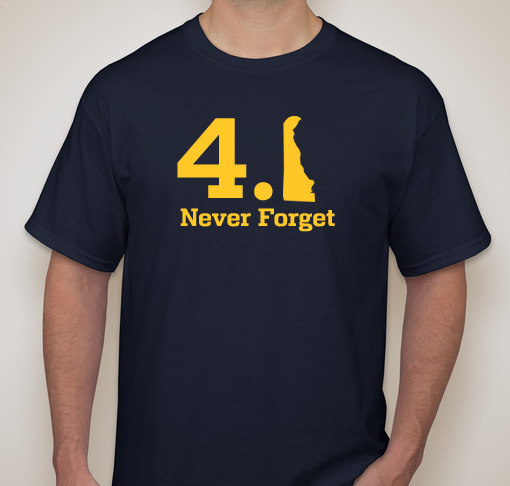 4.1 Never Forget T-Shirt (Navy Blue)