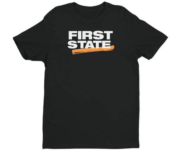 First State T-Shirt - Unisex (Black)