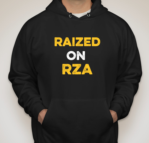 """Raized on RZA"" Hoodie by Delaware Originals LLC"