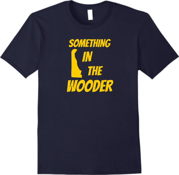 Something in the Wooder T-Shirt (Navy)
