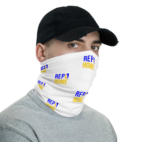 Rep Home Neck Gaiter (White)