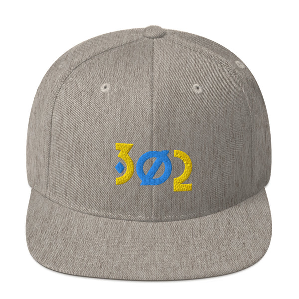 302 Diamond Snapback Hat