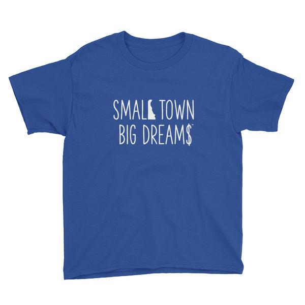 Small Town Big Dream$ - Youth Short Sleeve T-Shirt