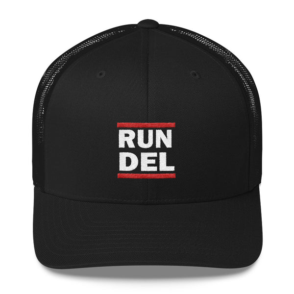RUN DEL - Trucker Cap