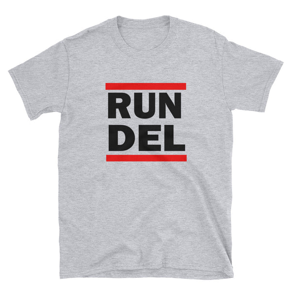 RUN DEL - Short-Sleeve Unisex T-Shirt
