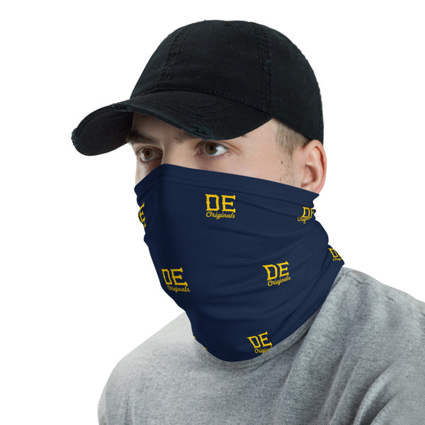DE Originals script Neck Gaiter