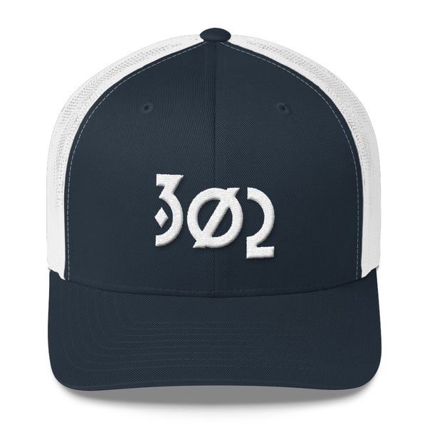 302 Diamond - Trucker Cap