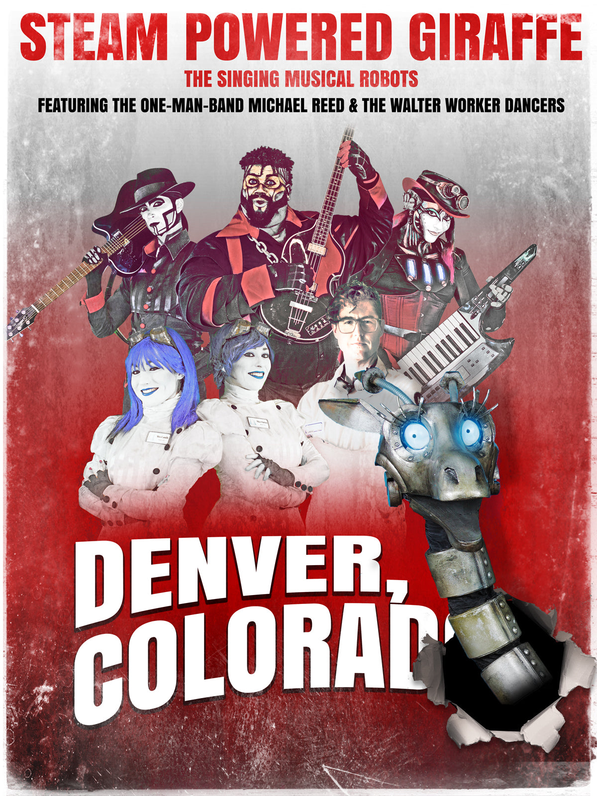 Steam Powered Giraffe: Live in Denver Colorado (2018)
