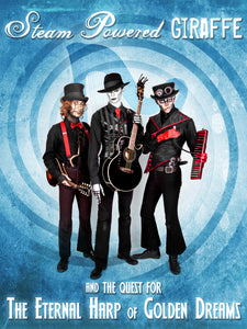 Steam Powered Giraffe: The Quest for the Eternal Harp of Golden Dreams (2012)
