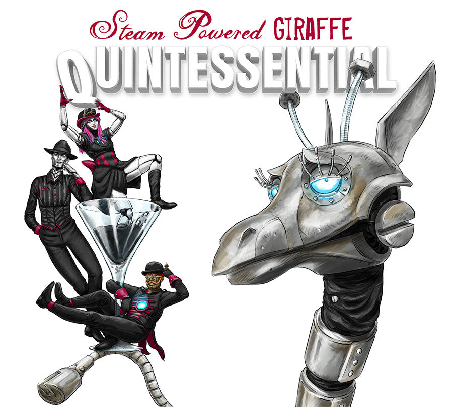 Quintessential 2016 Steam Powered Giraffe
