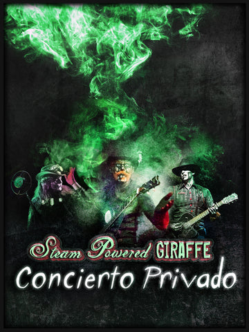 Steam Powered Giraffe: Concierto Privado (2016)