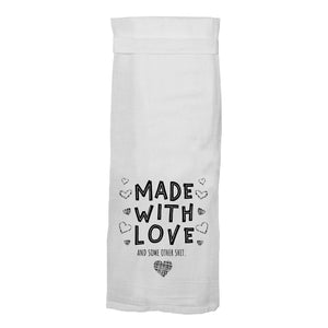Made With Love Flour Sack Hang Tight Towel®