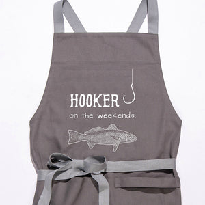 Hooker On The Weekends Apron