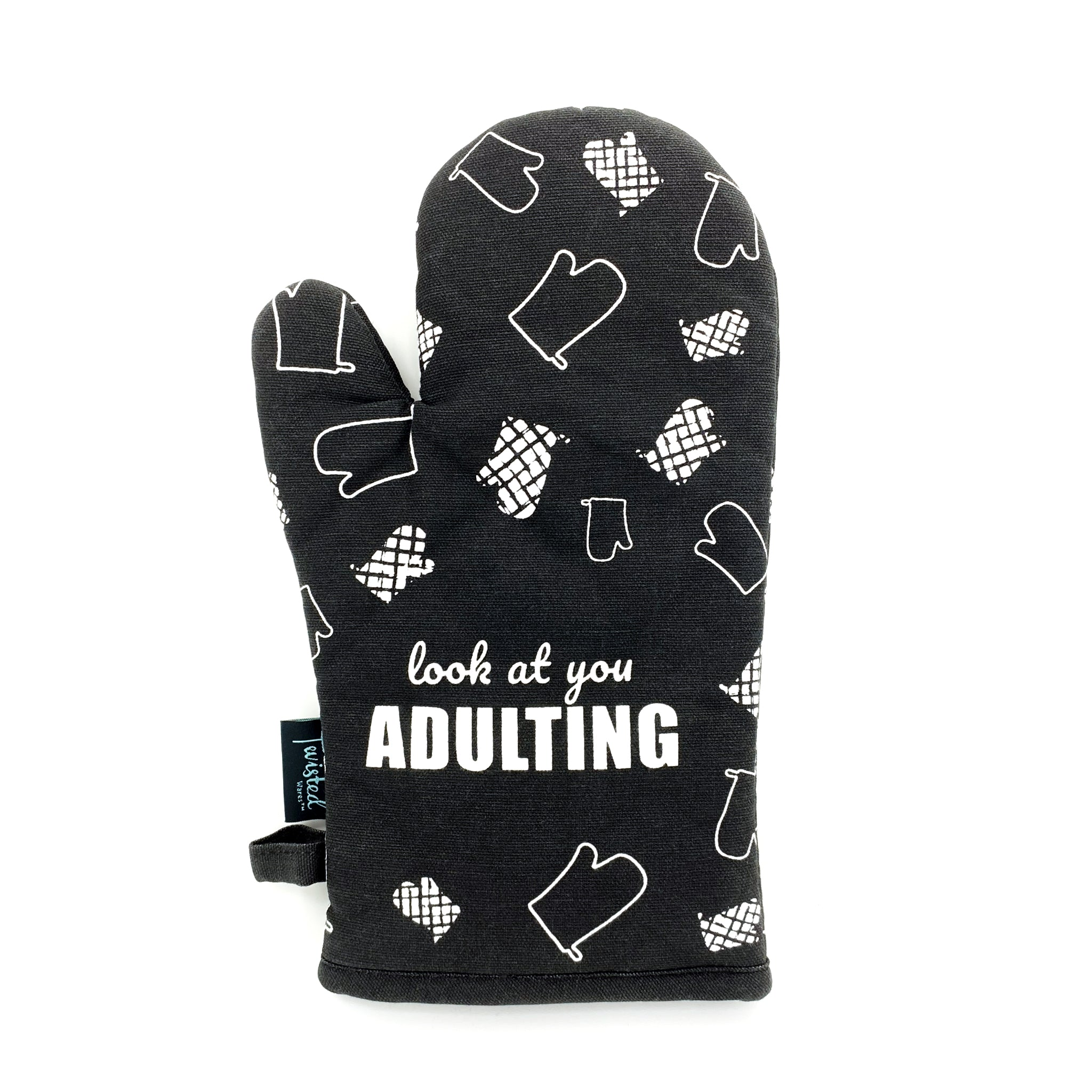 Look At You Adulting Oven Mitt