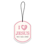 I Heart Jesus Air Freshener