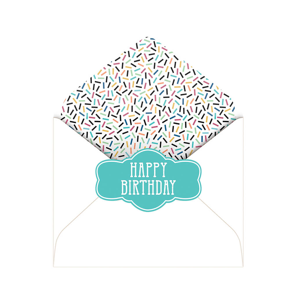 """Condoms Prevent Birthdays"" Deluxe Greeting Card"