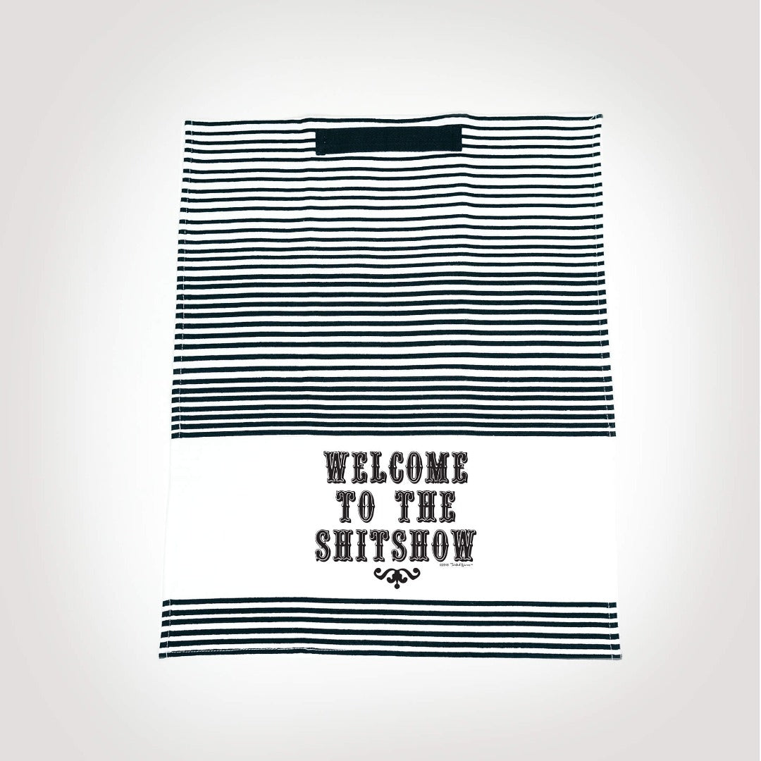 Welcome To The Shitshow Twisted Terry Towel