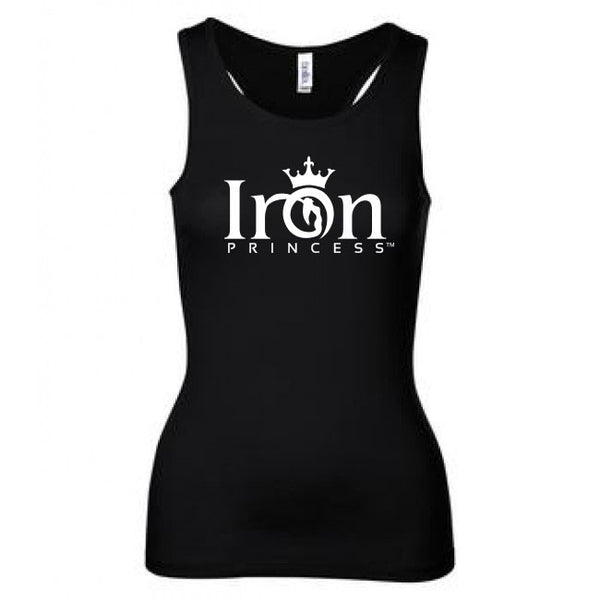 IRON PRINCESS TANK - WHITE LOGO