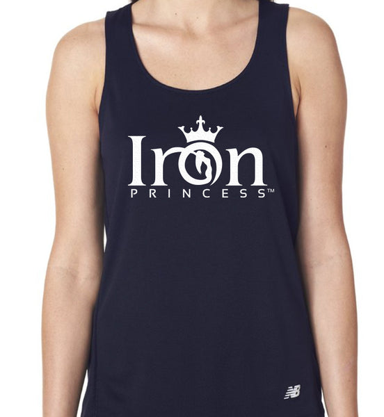 IRON PRINCESS PERFORMANCE TANK - NAVY