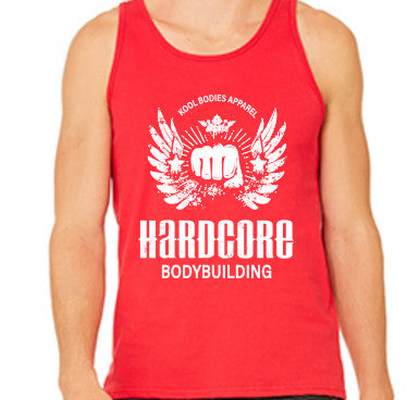 HARDCORE GRAPHIC TANK   RED