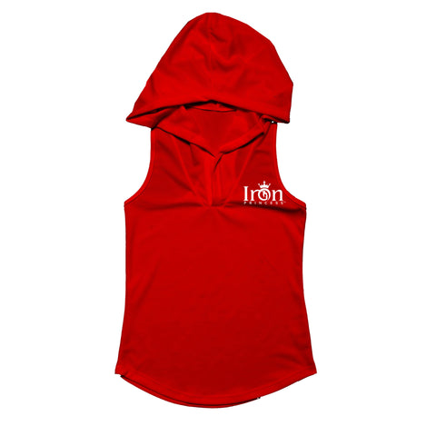 RACERBACK DRI-FIT SLEEVELESS HOODIE IRON PRINCESS COLLECTION