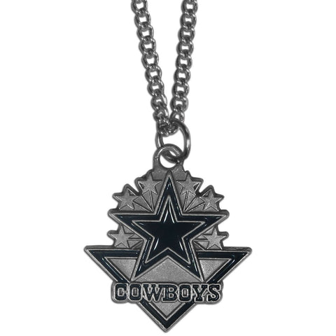 Dallas cowboys classic chain necklace cowboythangs dallas cowboys classic chain necklace aloadofball Gallery