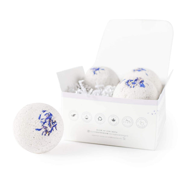 Sleep Aid Bath Bomb (4 pack)