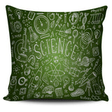 Science Chalkboard Pillow Cover
