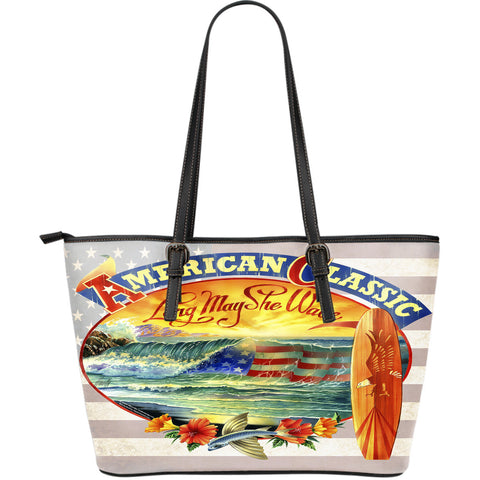 Jim Mazzotta Signature Line - American Classic - Large Leather Tote Bag!
