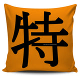 Unique - Feng Shui Zen Pictograph Pillow Cover!