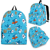 Shark Pattern #2 Backpack - FREE SHIPPING