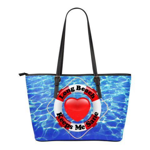 Lifebelt Line - Long Beach - Small Leather Totes!