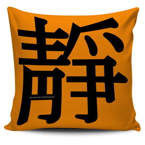 Calm - Feng Shui Zen Pictograph Pillow Cover!