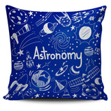 Astronomy Chalkboard Pillow Cover