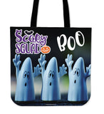 Scary Squad Halloween Trick Or Treat Cloth Tote Goody Bag