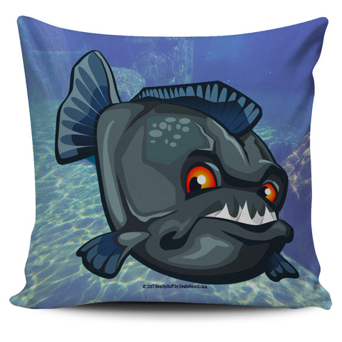 Scary Sea Life Pillow Covers - Caribbean Aqua Marine!