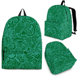Nautical Design Backpack (Dark Green) - FREE SHIPPING