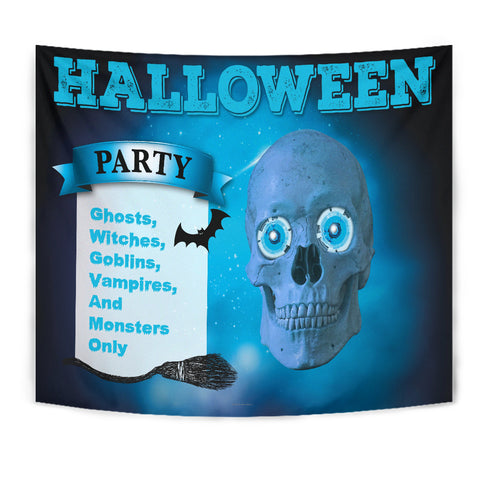 Halloween Party Design #1 - Halloween Wall Tapestry - FREE SHIPPING