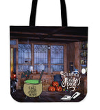 Magician's Den Halloween Trick Or Treat Cloth Tote Goody Bag