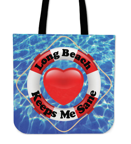 Lifebelt Line - Long Beach - Cloth Tote!
