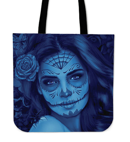Calavera Fresh Look Design #1 Cloth Tote Bag!