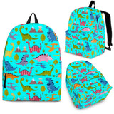 Dinosaurs Design #1 Backpack (Cyan) - FREE SHIPPING