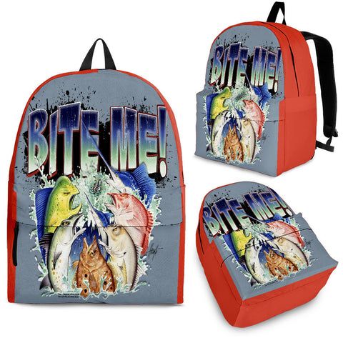 Jim Mazzotta Signature Line - Bite Me - Backpack!