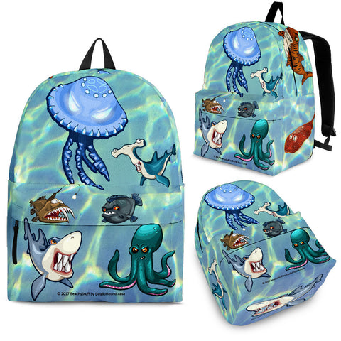 Scary Sea Life Backpacks!
