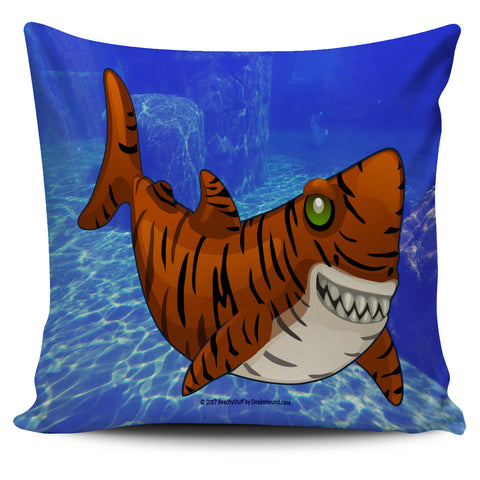 Scary Sea Life Pillow Covers - Ocean Blue!