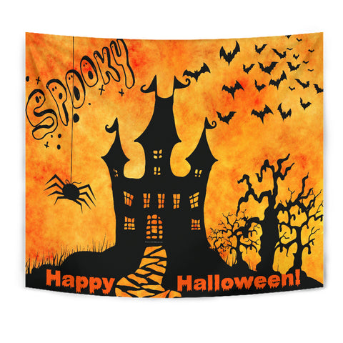Spooky Halloween - Halloween Wall Tapestry - FREE SHIPPING
