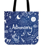 Astronomy Chalkboard Cloth Tote