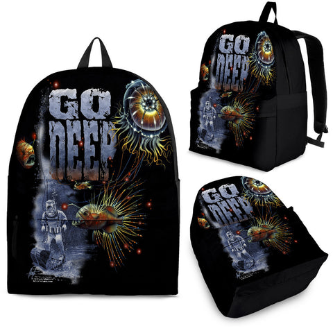 Jim Mazzotta Signature Line - Go Deep - Backpack!