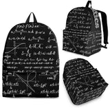 Mathematica Backpack Design #2 - FREE SHIPPING